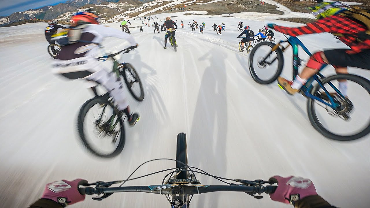 MOUNTAIN OF HELL 2021 FINALS - FULL RUN (48/ 516) Les 2 Alpes, France
