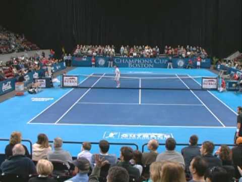 John McEnroe Vs Pete Sampras - Tennis