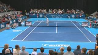 John McEnroe Vs Pete Sampras - Tennis