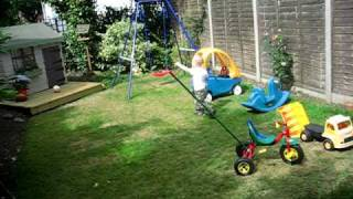 Isaac Helps Gran'da Make Garden Gates (32).avi