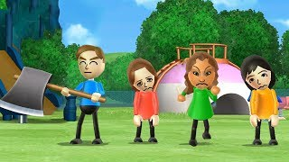 Wii Party Minigames - Player Vs 3 Gilrs