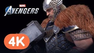 Marvel's Avengers: Every Revealed Character Costume & Finisher in 4K - NYCC 2019