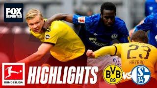 Borussia Dortmund 4-0 Schalke 04 | HIGHLIGHTS | Bundesliga | Jornada 26