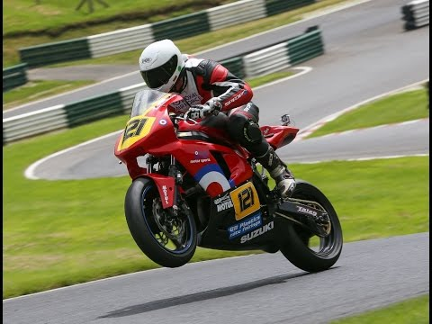 Cadwell Park - Onboard Race 1 Supertwins & Stocktwins, ThundersportGB Round 4 2016.