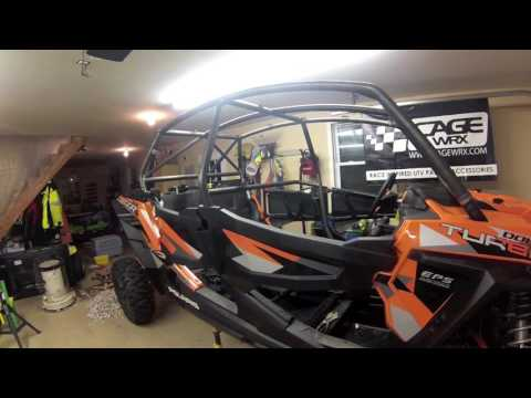 CageWrx Polaris RZR XPT4 cage build