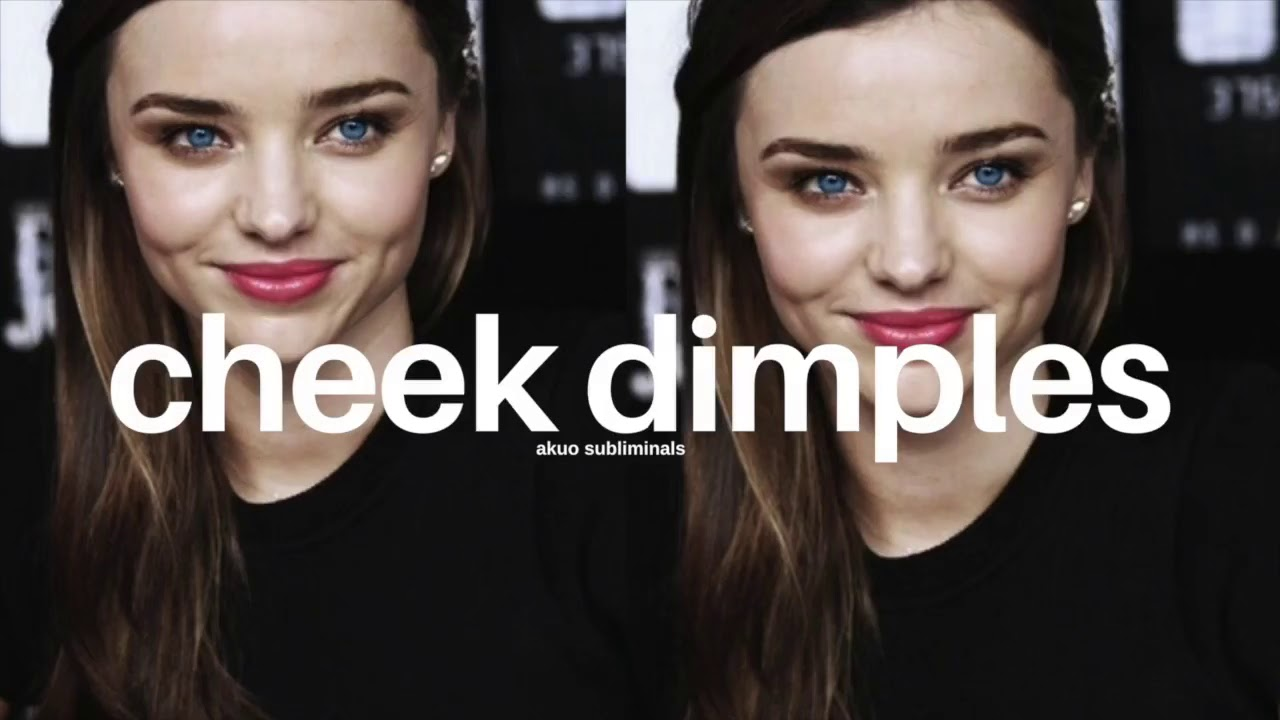 how to get cheek dimples overnight