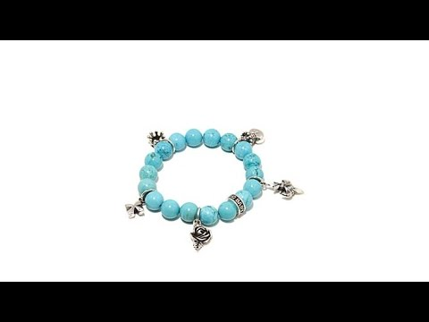 King Baby Jewelry Gemstone Bead Charm Bracelet. https://pixlypro.com/wWSiQWN