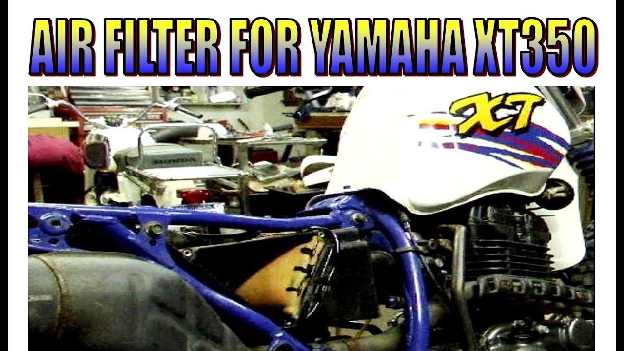1985 2000 yamaha xt tt 350 xt350 tt350 service manual