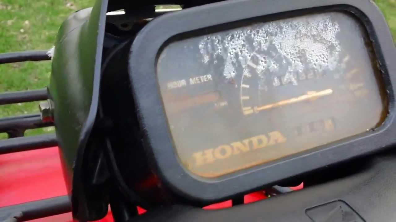 1998 Honda Foreman 400 ES 4X4  WALK AROUND  YouTube