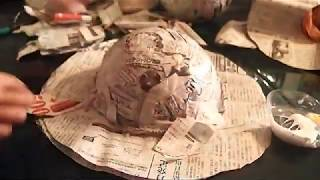 How to make Hat using Newspaper..part 2