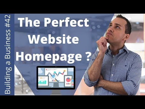 How To Design A Website Home Page In 15 Minutes | Website Homepage Design Tutorial - BOBFS#42