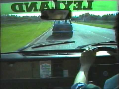 Drive around Moreton   on the Wirral in 1984.