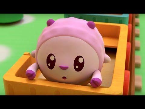 Малышарики - Паровозики - серия 103 - обучающие мультфильмы для малышей 0-4 - про паровозики