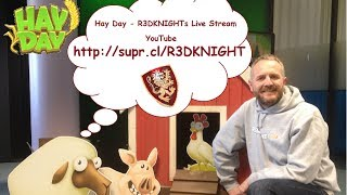 Hay Day - R3DKNIGHTs Live Stream on YouTube 2
