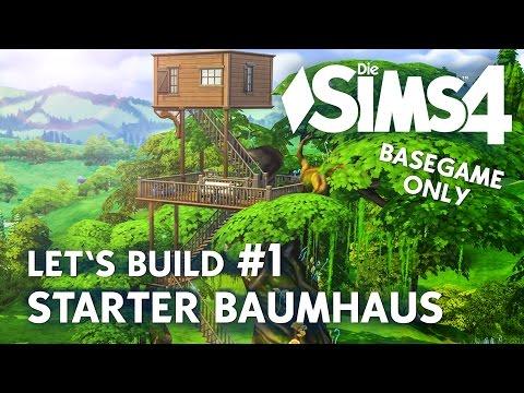 Geheimversteck Bauen die sims 4 baumhaus bauen let 39 s build