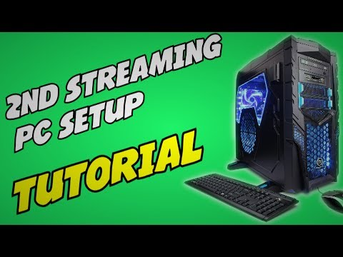 How to Setup a 2 PC Twitch Stream