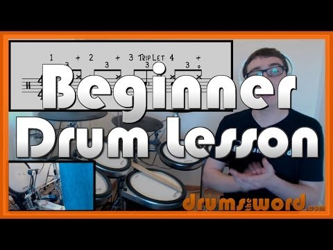 ★ How To Read DRUM Music - Part 3 of 3 ★ Free Video Drum Lesson (Drum Notation)