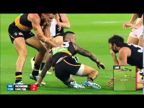 AFL Carlton vs Richmond Round 2 2014 (Full Match)