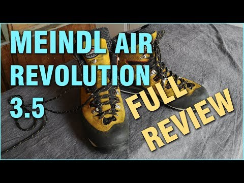 MEINDL AIR REVOLUTION 3.5 / REVUE CHAUSSURES DE MARCHE / GEAR REVIEW