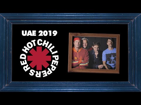 Dana McKenzie - WATCH: Red Hot Chili Peppers September-2019 Abu Dhabi Concert