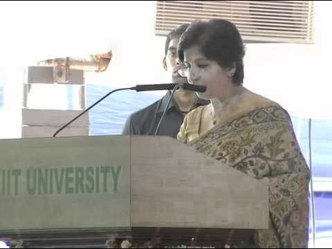 Smt. Nirupama Rao, Indian Ambassador to US Inagurating Women's Science Congress 2012