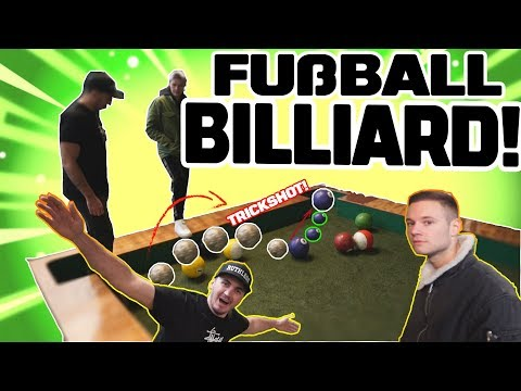 ULTIMATIVES FUßBALL BILLARD MIT DER CREW! | Crewzember