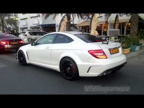 Mercedes C63 AMG Coupe Black Series in Muscat, Oman