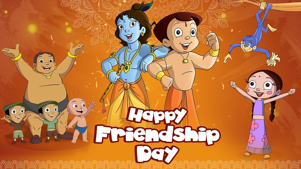 Chhota Bheem - Happy Friendship Day | Hindi Cartoon for Kids