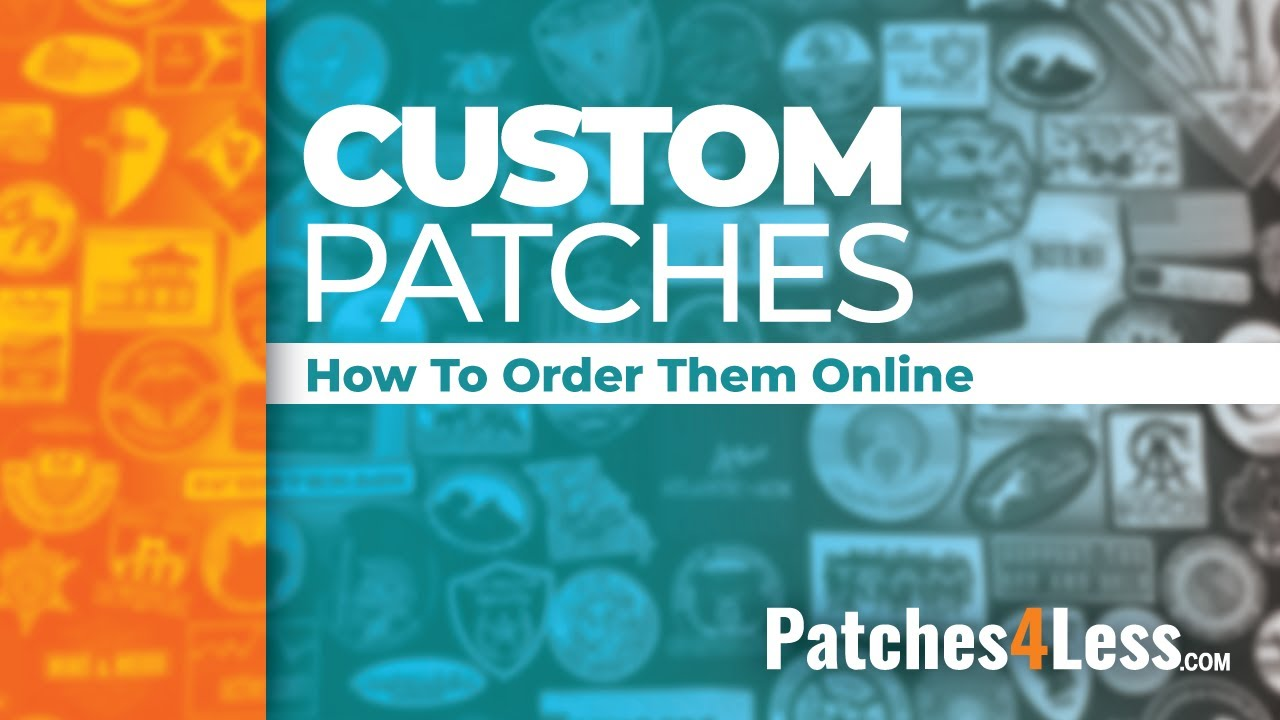Custom Patches - Create your own Custom Patch | Patches4Less com