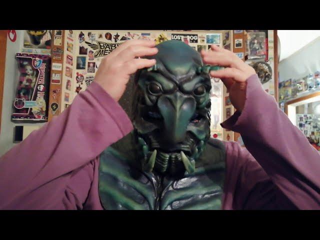 My CFX Beelzebug The Scarab Beetle silicone mask