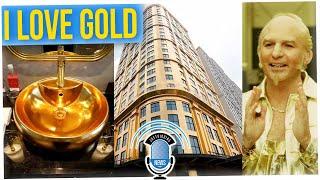 Vietnam Creates 24K-Gold-Plated Hotel Exterior & Interior (ft. Tim Chantarangsu)