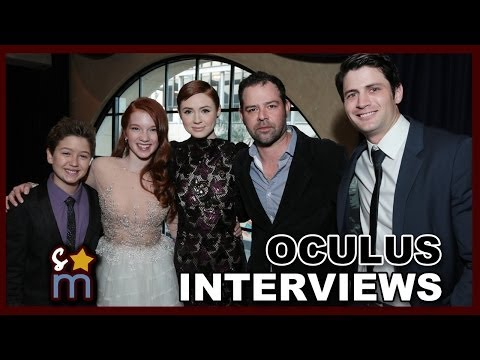 How to Survive A Paranormal Horror Movie - OCULUS Premiere Interviews