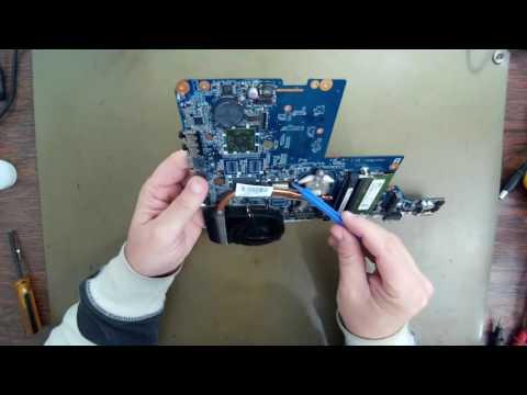 Notebook Defeito Bga Chipset Estação Solda Achi Ir6000 Parte 1.