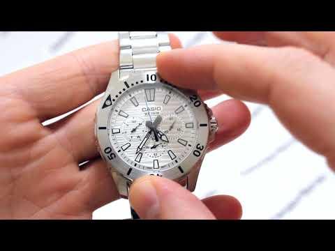 Часы Casio MTD-1086D-7A - видео обзор от PresidentWatches.Ru