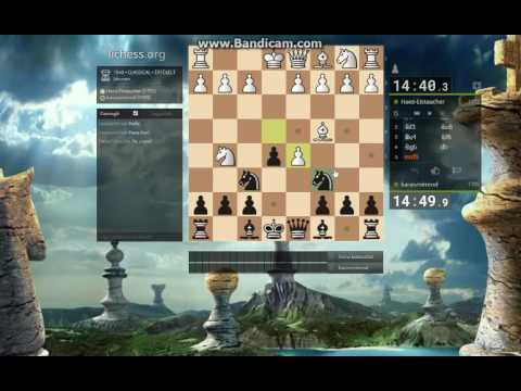 Classical chess game 2.