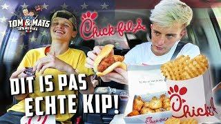 HET BESTE KIP RESTAURANT TER WERELD! 🍗🤤 (Chick-fil-A) | Tom & Mats in Amerika #4