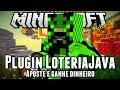 Plugin LoteriaJava - Aposte e ganhe dinheiro Minecraft