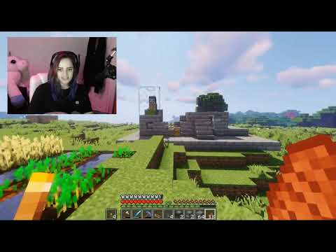 Minecraft Survival Let's Play: AUTOMATED CHICKEN & SUGAR CANE FARM Ep 7