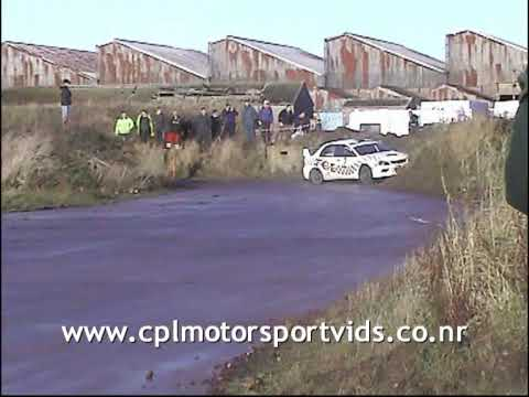 Kingdom Stages Rally 2009 - Spins, Crashes and Incidents