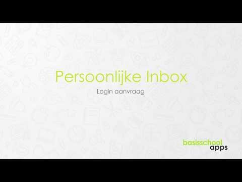 Login aanvragen   Persoonlijke Inbox   Basisschool Apps