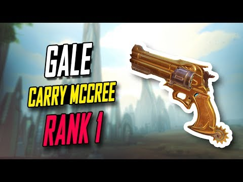 [RANK 1] GALE INSANE MCCREE 15K DMG! 45 KILLS!! [ OVERWATCH TOP 500 SEASON 5 ]