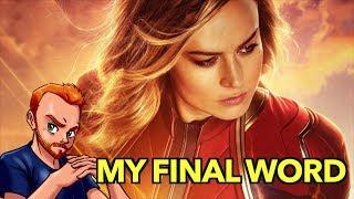 My Final Word on Captain Marvel
