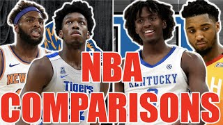 NBA player comparisons for the 2020 NBA draft class! (James Wiseman, Tyrese Maxey etc.)