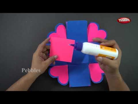 How to make seasons Gift Box  | DIY Paper Gift Box