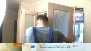 Установка распашной двустворчатой двери (ДМ-Сервис)(Монтаж распашной двустворчатой двери от ДверьМежком-Сервис (ДМ-Сервис), 2011-09-05T09:12:47.000Z)