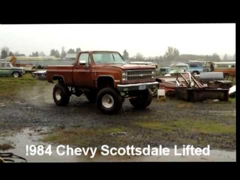 1984 Chevy Lifted Scottsdale For Sale Oregon Vintage Cars Youtube