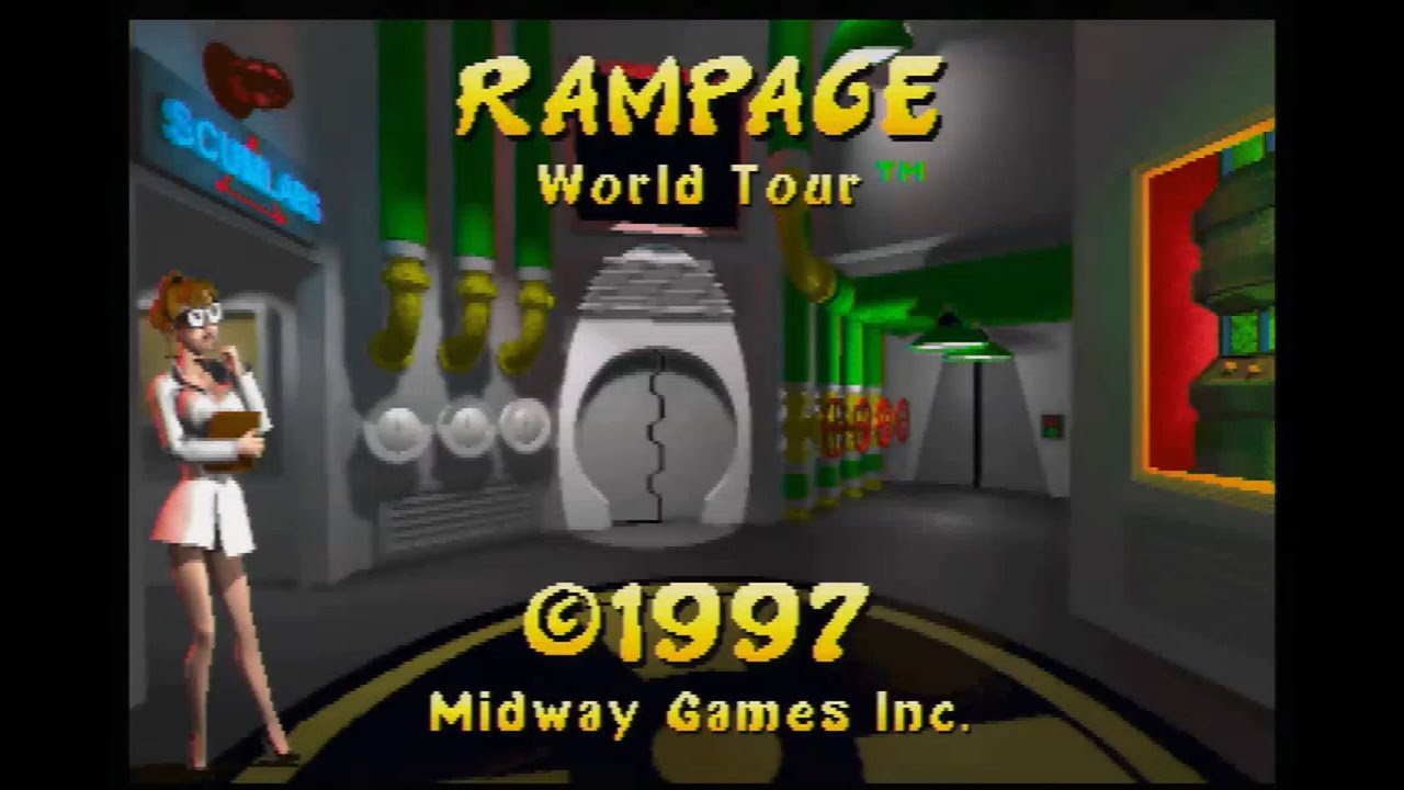 rampage video game lizzie