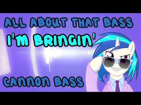 All About That Bass Cannon Vinyl Scratch   Elite3