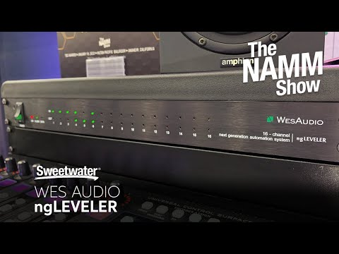 WesAudio ngLEVELER 16-Channel Analog Automation System at Winter NAMM 2020