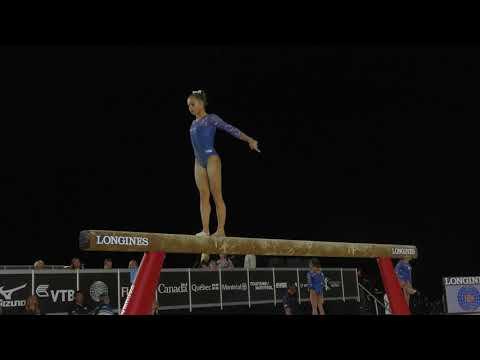 Ragan Smith - Balance Beam - 2017 World Championships - Podium Training